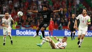 UEFA abre inquérito a possíveis atos discriminatórios no jogo entre Alemanha e Hungria