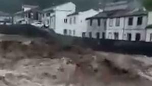 Autoridades prosseguem buscas para encontrar mulher desaparecida durante enxurradas nos Açores