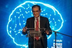 O provedor da SCML Edmundo Martinho cerimónia de atribuição dos prémios em 2019