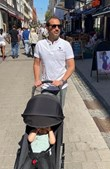 Frederico Varandas de férias com a família