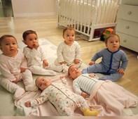 Casal tem 20 bebés num ano