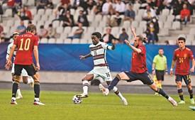 Romário Baró é um dos jogadores da Seleção formados no FC Porto