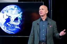 Jeff Bezos, fundador da Amazon e homem mais rico do Mundo segundo a revista 'Forbes'