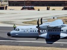 Incidente obriga avião da Força Aérea a aterrar de emergência sem trem no Porto Santo