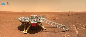 China publica imagens a cores da superfície de Marte