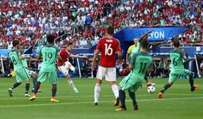 Portugal empatou com os húngaros no único encontro num Europeu