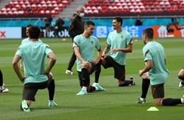 Seleção portuguesa treina na Hungria