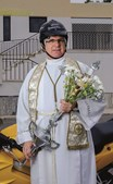 Padre motard vai atestar sobre o caráter de Salgado