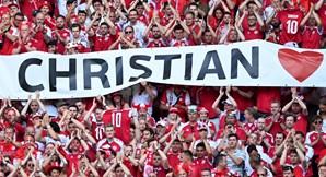 Homenagem a Christian Eriksen