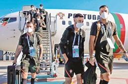 Comitiva portuguesa chegou a Munique esta quinta-feira à tarde, após uma viagem, desde Budapeste, de 1h10m