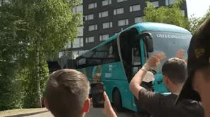 Autocarro da Seleção