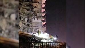 Equipas de resgate procuram sobreviventes nos escombros de prédio que desabou em Miami