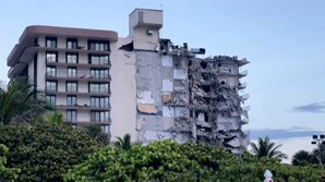 Desbamento de prédio em Miami