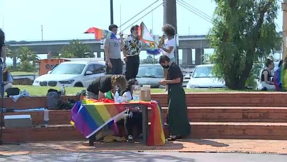 Primeira marcha LGBT do ano realizada em Aveiro