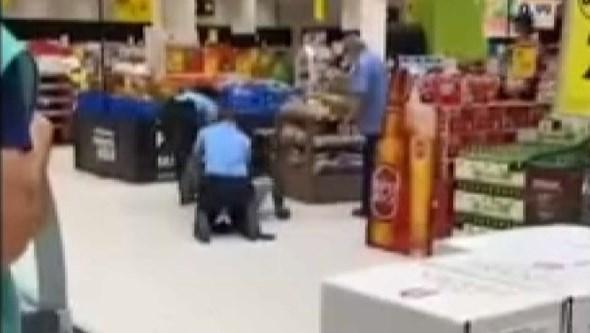PSP obrigada a usar a força durante detenção em supermercado de Lisboa. Veja as imagens