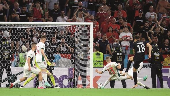 Alemanha nos oitavos em jogo muito sofrido frente à Hungria