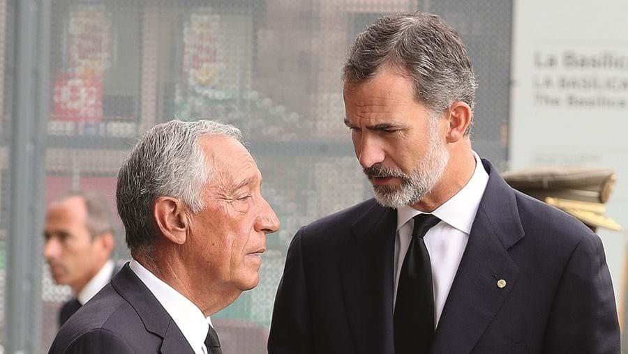 Marcelo e Felipe VI