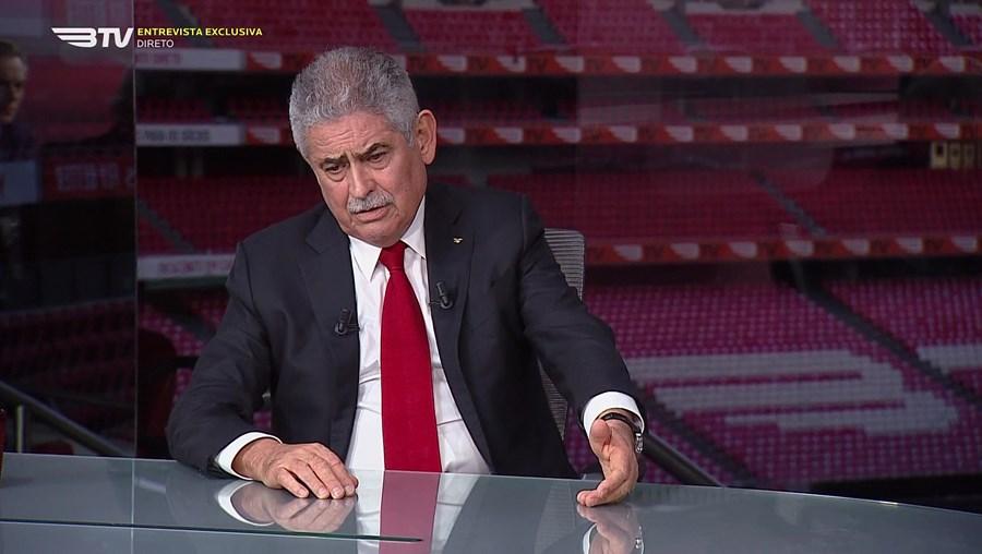 Presidente do Benfica vai explicar os motivos do insucesso desportivo nesta época através do canal do clube