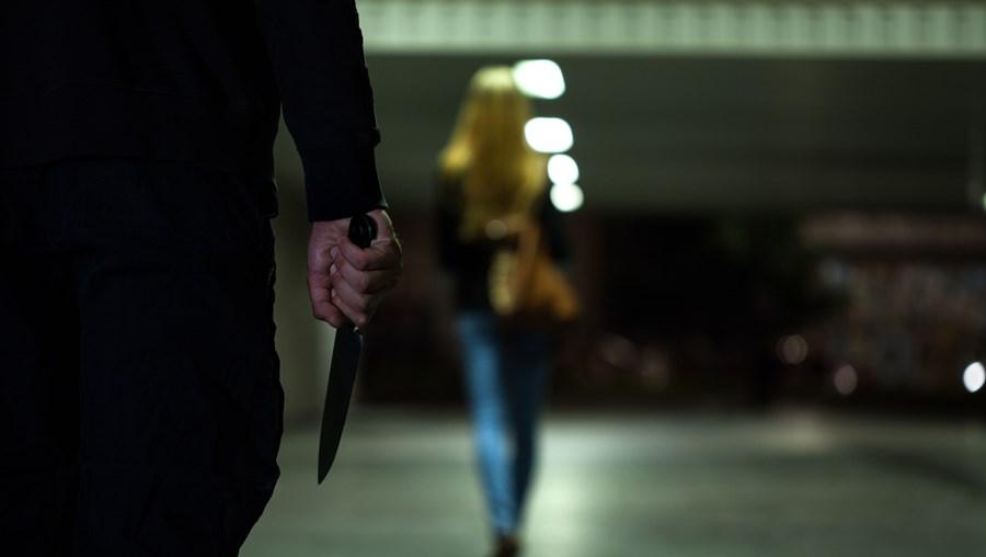 Homem usou uma faca no crime