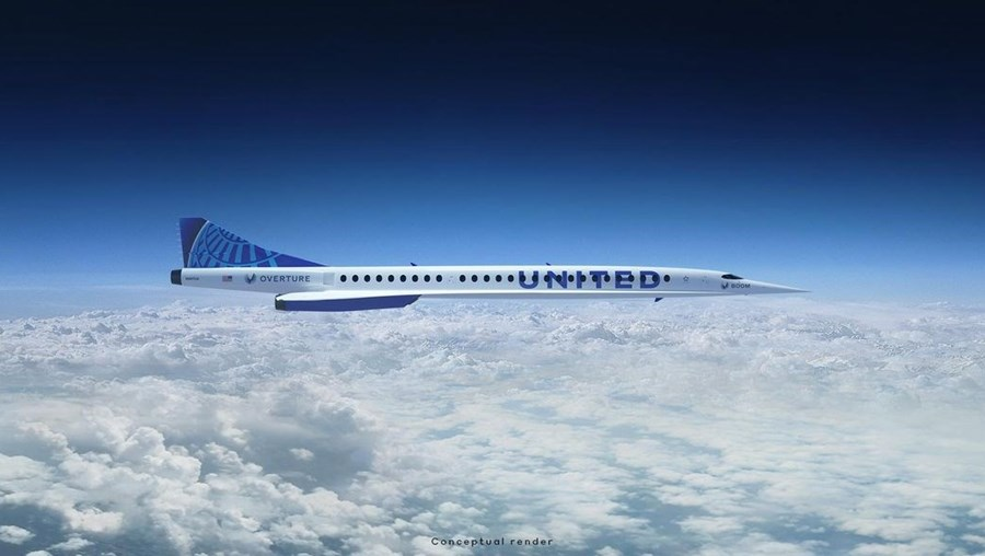 Overture, aeronave da Boom Supersonic