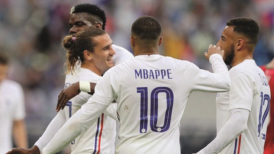 Seleção francesa tem um valor de mercado de 1030 milhões de euros, o montante mais alto entre as equipas do Grupo F