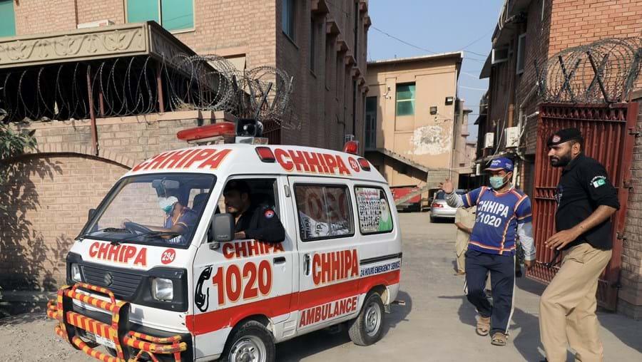 Ambulância, Paquistão
