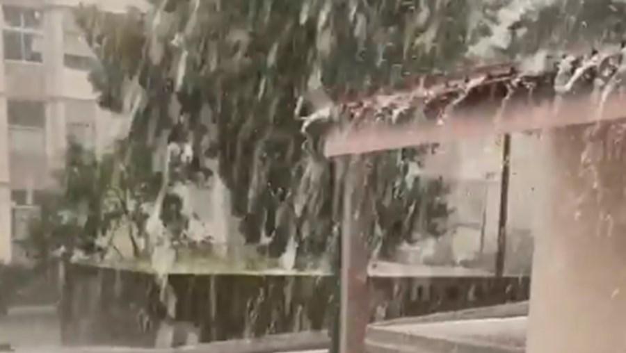 Chuva forte em Vila Real