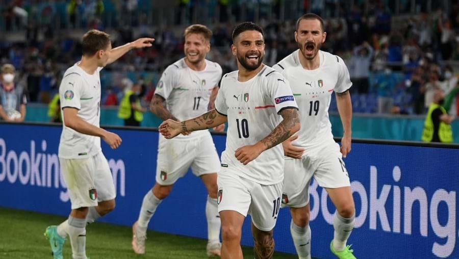 Itália vence a Turquia no Euro2020