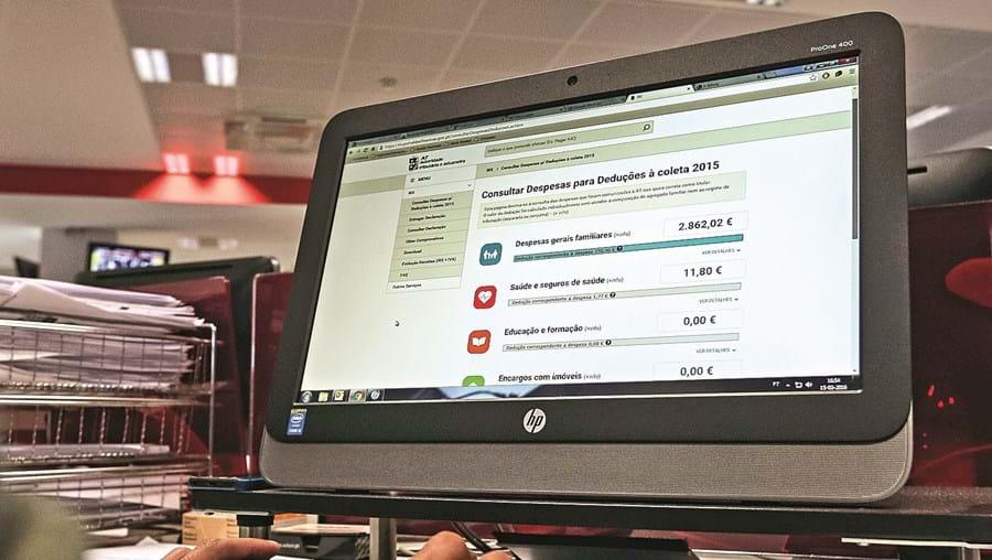 O e-Balcão trata de milhares de perguntas dos contribuintes