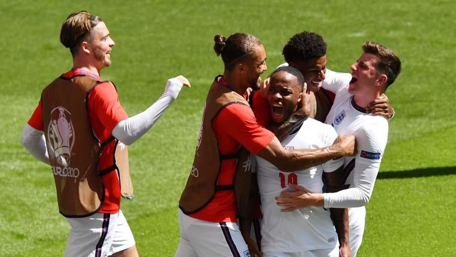 Inglaterra vence Croácia no arranque do grupo D do Euro2020