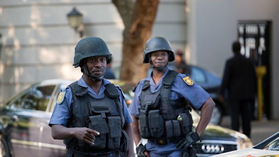 Polícia de África do Sul