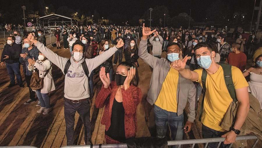 Milhares de pessoas participaram nos quatro eventos-teste realizados em abril e maio no País