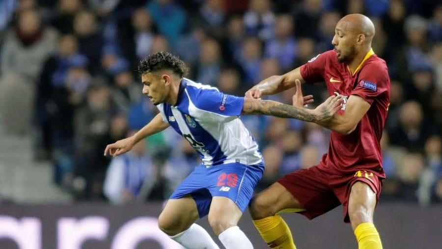 Nzonzi defrontou o FC Porto na Champions, em 2019, quando estava ao serviço da Roma