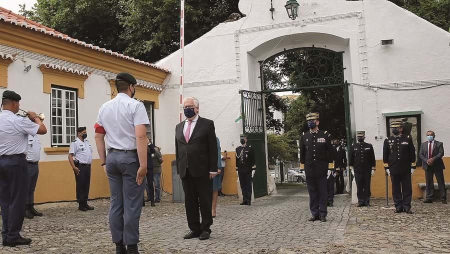 Ministro da Administração Interna, Eduardo Cabrita, presidiu ao compromisso de honra de 92 novos guardas