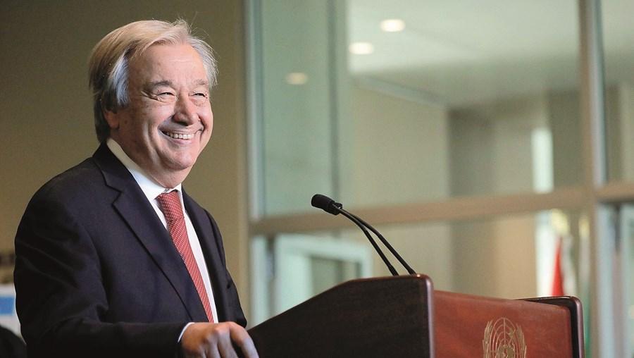 """António Guterres prometeu fazer tudo ao seu alcance para """"reforçar a confiança"""" entre nações"""
