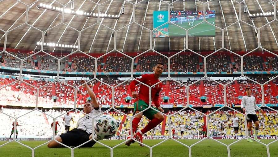 Golo de Ronaldo foi o número 107 ao serviço da Seleção