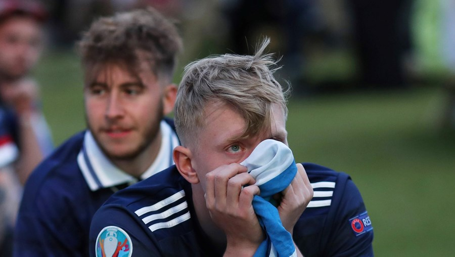 Adeptos escoceses no Euro 2020