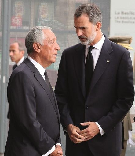 Marcelo e Felipe VI vão estar esta sexta-feira na apresentação da candidatura ibérica