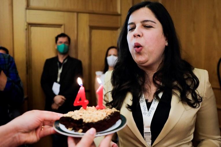 Inês de Sousa Real assumiu a liderança do PAN no mesmo dia em que assinalou 41 anos de vida