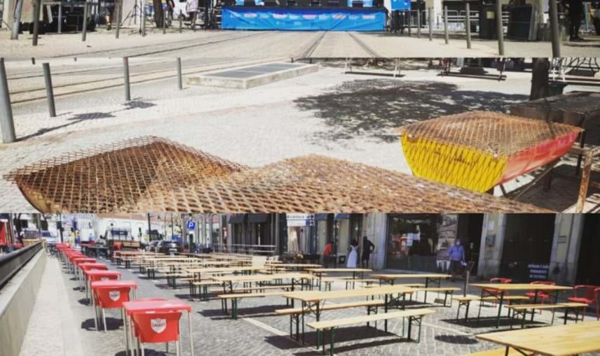 Arraial da Iniciativa Liberal em Lisboa