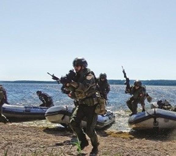 Fuzileiros em ação