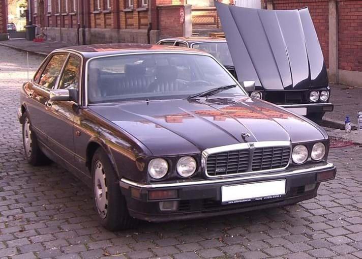 O Jaguar XJR 6 onde circulava Christian Brueckner
