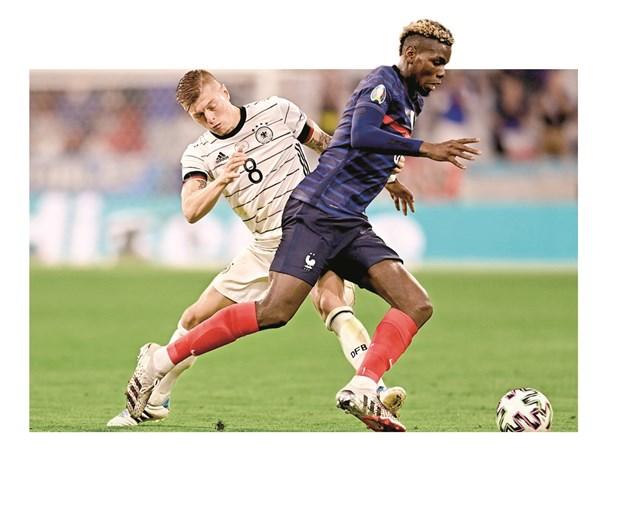 Paul Pogba, 'Pogboss', foi o melhor jogador na partida que opôs a seleção francesa à Alemanha