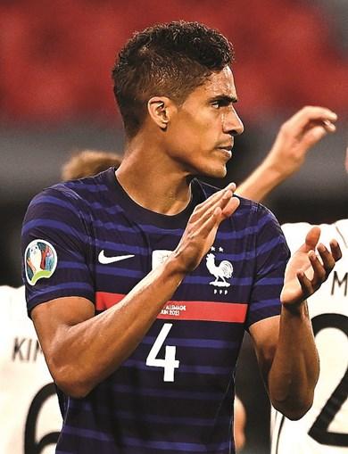 Varane é um elemento fulcral na defesa de França e do Real Madrid