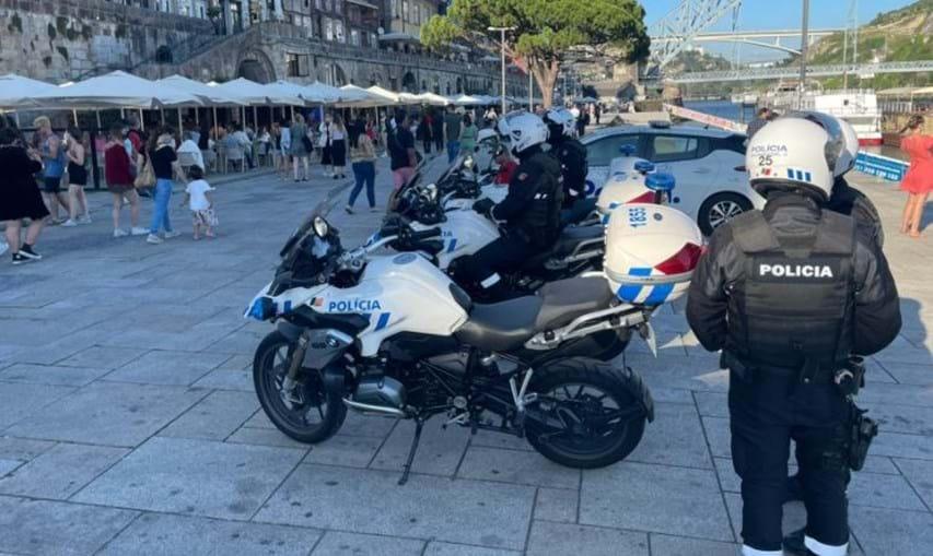 Polícia no Porto