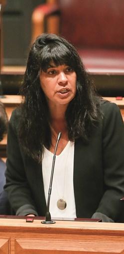 Sandra Cunha, ex-deputada do BE