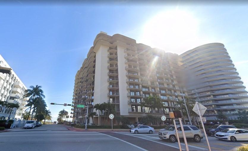 Imagem mostra prédio em Miami antes do desabamento