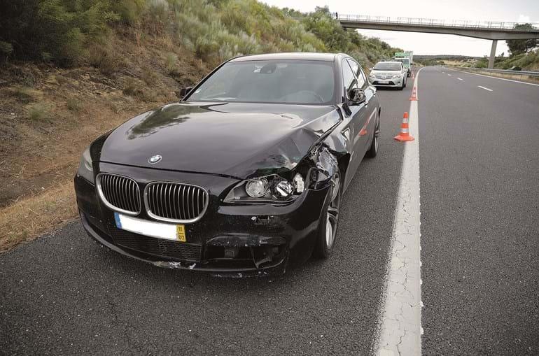 Atropelamento fatal ocorreu na A6, no sentido Estremoz-Évora, ao quilómetro 77