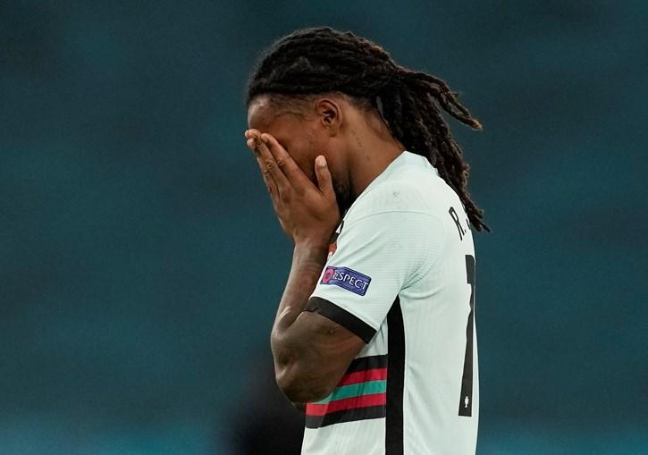 As imagens da desilusão da equipa das quinas após a derrota contra a Bélgica