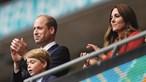 A reação do príncipe George à derrota de Inglaterra